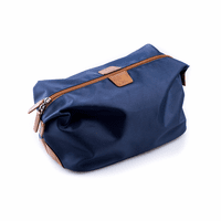 Ballistic Blue Nylon Travel Dopp Kit