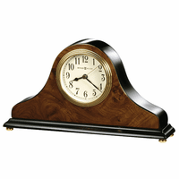 Baxter Tambour Style Table Clock by Howard Miller