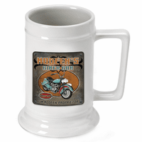 Biker Bar German Beer Stein- Discontinued