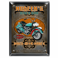 Biker Bar Pub Sign - Free Personalization