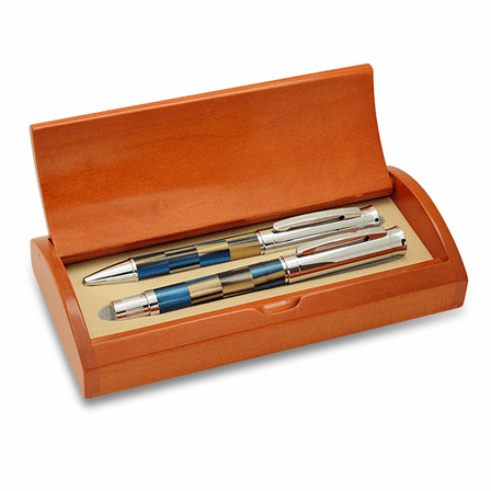 Black & Blue Dual Pen Set