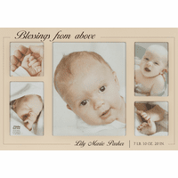 Blessings From Above Personalized Collage Picture Frame