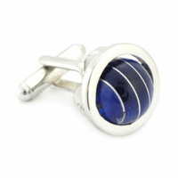 Blue Sphere Collection Cufflinks by Tateossian