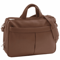 Boston Leather Laptop Briefcase Briefcase by Royce Leather - Free Personalization - Discontinued