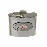 Boston Red Sox 6 Ounce Steel Flask