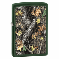 Break-Up Green Matte Zippo Lighter - ID# 28332