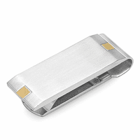 Brooklyn Engraved Spring Loaded Money Clip