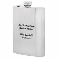 Brother From Another Engraved Mother Flask