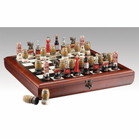 Budweiser Chess Set