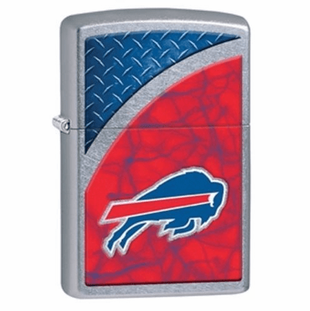 Buffalo Bills NFL Street Chrome Zippo Lighter - ID# 28198