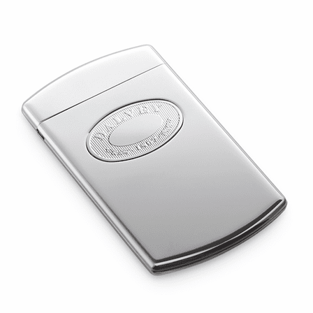 Business Card Holder with Silver Plate by Dalvey