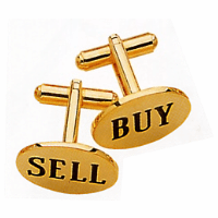 Buy/Sell Cufflinks