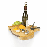 Caddy Golf Bag Wine & Cheese Cutting Board