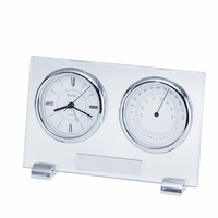 Camberley Tabletop Clock & Weather Station by Bulova - Discontinued