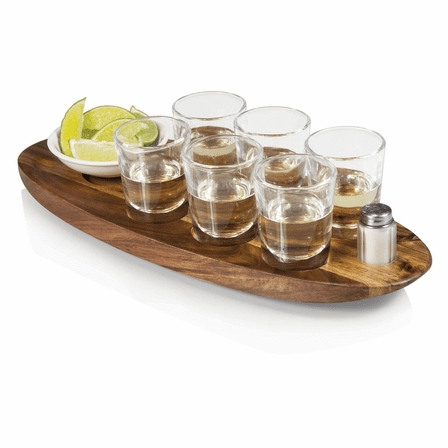 Cantinero Shot Serving Tray
