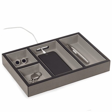 Carbon Fiber Men's Charging Valet