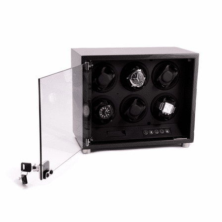 Carbon Fiber Six Watch Winder