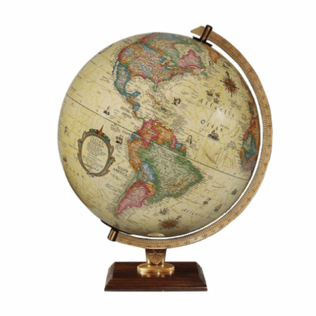 Carlyle Desk Globe by Replogle Globes