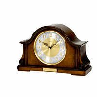 Chadbourne Personalized Chiming Mantel Clock by Bulova