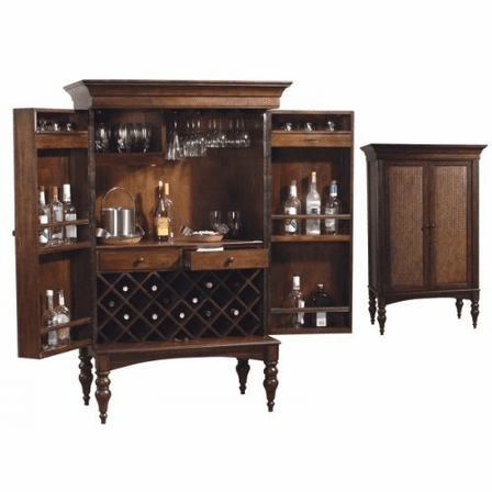 Cherry Hill Wine & Bar Cabinet by Howard Miller - Discotinued