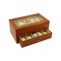Cherry Wood 20 Watch Box