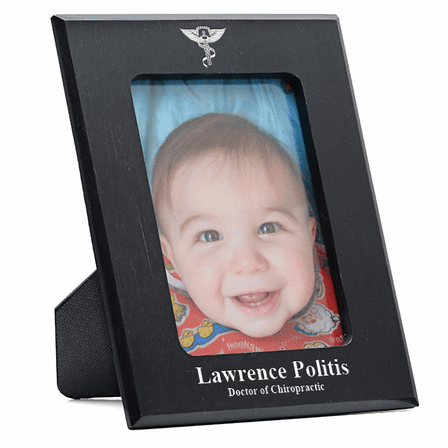 Chiropractor's Personalized Marble Photo Frame