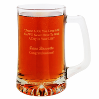 Choose A Job You Love 25 Ounce Tankard