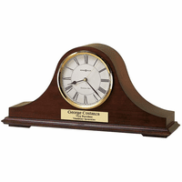 Christopher Personalized Mantel Clock by Howard Miller