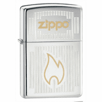 Chrome Visions High Polish Chrome Zippo Lighter - ID# 24206