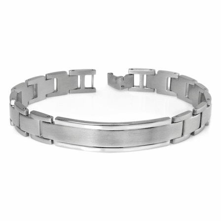 Classic Collection Stainless Steel Men's ID Bracelet - Discontinued