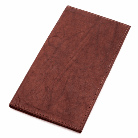 Classic Genuine Leather  Checkbook Holder
