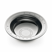 Classic Polished Steel Shaving Bowl By Dalvey
