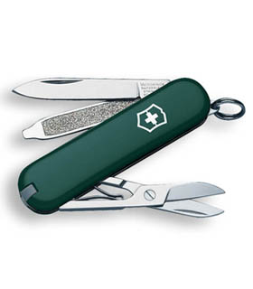 Classic Sd Hunter Green Swiss Army Knife Executive Gift