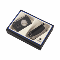 Colibri Enterprise Lighter & Slice Cigar Cutter Gift Set - Discontinued