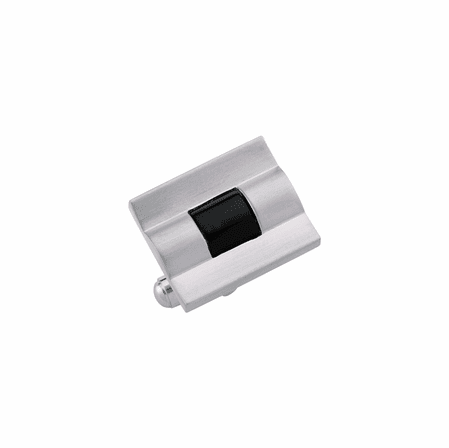 Colibri Hub Collection Stainless Steel & Genuine Black Onyx Cuff Links