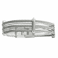 Colibri Shox Collection Stainless Steel Men's Bracelet