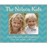 "Color The World Personalized 5"" x 7"" Picture Frame"