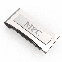 Colorado Engraved Spring Loaded Money Clip