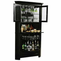 Cornerstone Estates Wine & Bar Cabinet by Howard Miller - Discontinued