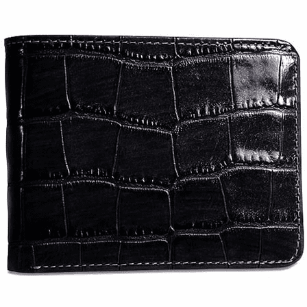 Croco Collection Bi-Fold Wallet by Jack Georges - Discontinued