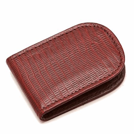 Crocodile Skin Magnetic Money Clip