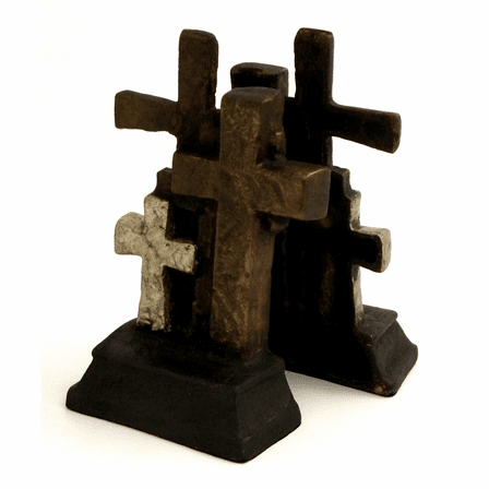 Cross Bookends