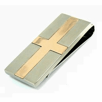 Cross Collection Personalized Money Clip - Discontinued