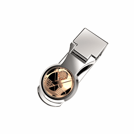Crossing Golf Clubs Money Clip In Silver