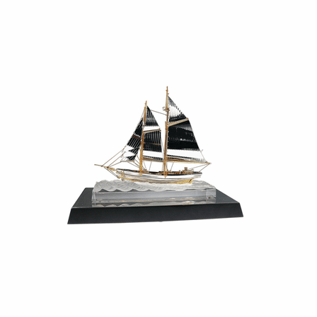 Crystal Sailing Ship
