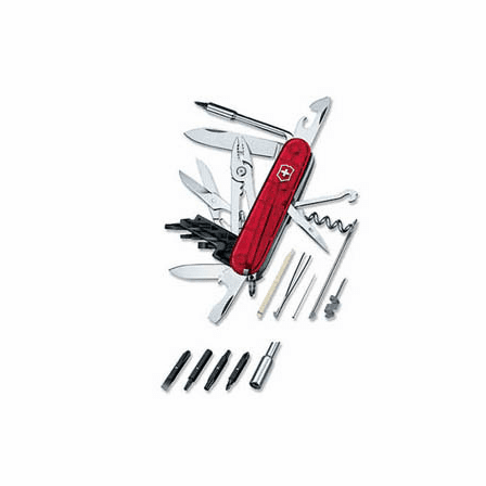 Cybertool 34 Ruby Swiss Army Knife