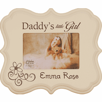 """Daddy's Little Girl Personalized  4"""" x 6"""" Picture Frame"""