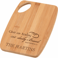 Daily Bread Personalized Cutting Board - Discontinued