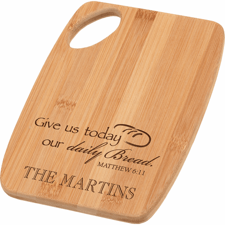 Daily Bread Personalized Cutting Board