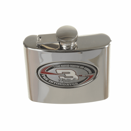 Dale Earnhardt #3 6 Ounce Steel Flask - Discontinued
